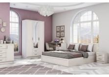 Принцесса ЦРК.ПРН. Комплект №1 Мебель для спальни НАБИРАЕТСЯ ПОЭЛЕМЕНТНО