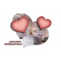 Ко Дню Св. Валентина | Двуспальные кровати со скидкой  | УЖЕ НА СКЛАДЕ В МОСКВЕ!