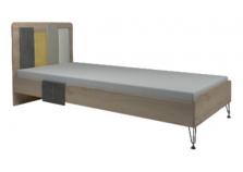 Александрия № 12 (антрацит) Кровать 900