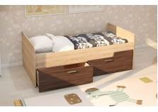 МС Умка (ясень темный) Детская кровать (800 х 1600) с ящиками (комплект)