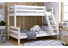 Адель (белый) Кровать 2-х-ярусная (2 сп.места: 80х190, 120Х190)