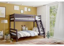 Адель (лаванда) Кровать 2-х-ярусная (2 сп.места: 80х190, 120Х190)