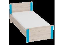 Скаут (индиго) Кровать (сп. место: 90х200)