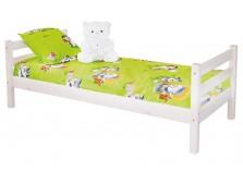 Соня С-1 (белая) Кровать из массива (сп. место: 80х190)
