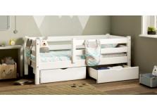 Соня С-160 (белая) Кровать детская (сп.место: 700х1600)