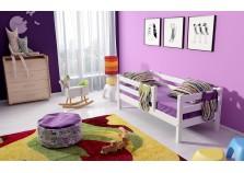 Соня С-3 (белая) Кровать с защитой по периметру (сп. место: 80х190)