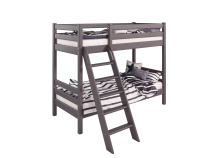 Соня С-10 (лаванда) Кровать двухъярусная с наклонной лестницей (два сп. места: 80х190)