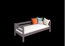 Соня С-2 (лаванда) Кровать с задней защитой (сп. место: 80х190)