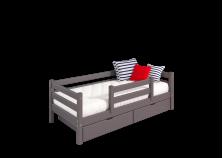 Соня С-4 (лаванда) Кровать с защитой по центру (сп. место: 80х190)