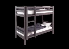 Соня С-9 (лаванда) Кровать двухъярусная с прямой лестницей (сп. место: 80х190)
