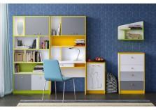 Альфа Комплект №2 Модульная система для детской комнаты