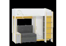 Альфа Комплект №3 Кровать 11.20 с мягким элементом