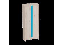 Скаут (индиго) Шкаф 2-х дверный