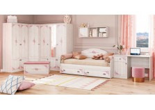 Эльза (девичья) Мебель для детской НАБИРАЕТСЯ ПОЭЛЕМЕНТНО (Комплект №2)