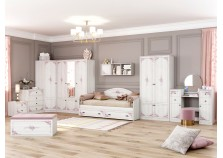 Эльза (девичья) Мебель для детской НАБИРАЕТСЯ ПОЭЛЕМЕНТНО