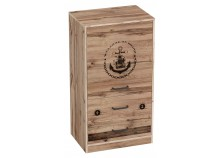 Фрегат Тумба с дверцей и ящиками