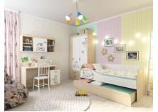 Кот (К-4) Комплект мебели для комнаты школьника №4