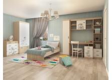 Кот (К-2) Комплект мебели для комнаты школьника №2