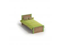 Марио-2 (дуб вотан) Кровать 900 (с основ.)