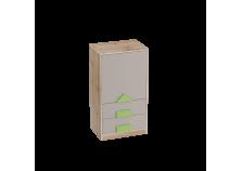 Марио (дуб вотан) Тумба с дверцей и ящиками