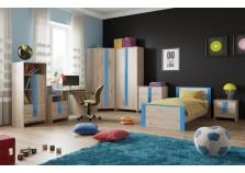 Скаут (индиго) Комплект мебели для комнаты школьника НАБИРАЕТСЯ ПОЭЛЕМЕНТНО