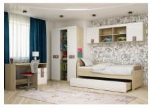 Стиль  (кофе) Комплект мебели для комнаты школьника