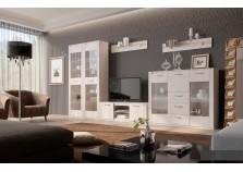 Элана (бодега белая) Мебель для гостиной НАБИРАЕТСЯ ПОЭЛЕМЕНТНО