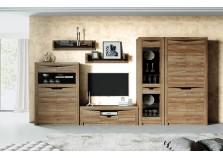 Соренто (дуб стирлинг)  Комплект мебель для гостиной, НАБИРАЕТСЯ ПОЭЛЕМЕНТНО