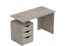 Соренто (дуб бонифаций) Стол письменный с 3-мя ящиками