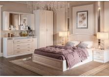 Венеция (жемчуг) Комплект №4 Спальня НАБИРАЕТСЯ ПОЭЛЕМЕНТНО