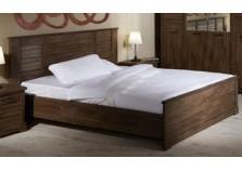 Кантри СБК-113.03 (рибек темный) Кровать (сп.место: 140х200)