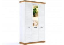 Кантри СБК-115.07 (сосна/рибек натур) Шкаф 3-х дверный