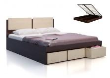 Арт-Сити СВ-66 Кровать с под. механизмом и ящиками для белья (сп. место 160х200)