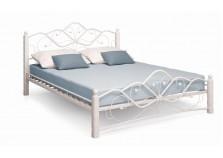 Кованая кровать Милая 140 белая