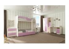Буратино (розовый) Мебель для Детской (Комплект №2)