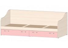 Буратино (розовый) Кровать-тахта с ящиками
