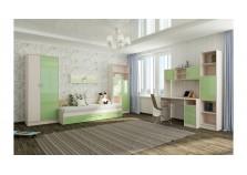 Буратино (зеленый) Мебель для Детской (Комплект №2)