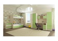 Буратино (зеленый) Мебель для Детской (Комплект №1)