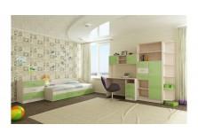 Буратино (зеленый) Мебель для Детской (Комплект №3)