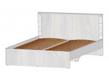 Ривьера (ясень) Кровать 160 (осн. ламели)