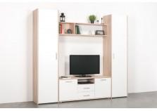 Альба-2 (дуб эндгрейн) Мебель для гостиной НАБИРАЕТСЯ ПОЭЛЕМЕНТНО