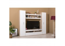 Альба-3 (дуб эндгрейн) Мебель для гостиной НАБИРАЕТСЯ ПОЭЛЕМЕНТНО
