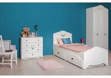 Роуз (11.27) Кровать детская с ящ. (б/м, сп.м. 90х200)