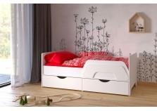 Уна (белая) Кровать с ящ. (сп. место: 80х160)