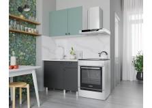 Деми (графит) Кухонный гарнитур 100