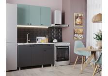 Деми (графит) Кухонный гарнитур 120