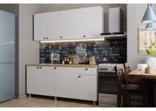 Деми (белый) Кухонный гарнитур 180