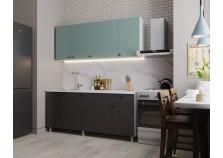 Деми (графит) Кухонный гарнитур 180