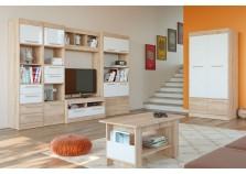 Оксфорд (сонома/(белый) Мебель для гостиной НАБИРАЕТСЯ ПОЭЛЕМЕНТНО