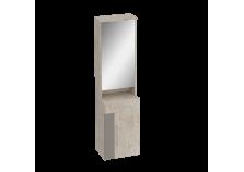Фан (дуб/мокко) Тумба с зеркалом 550